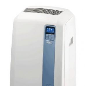 DeLonghi PAC WE112ECO - aire acondicionado portátil (A+, 1000W, 1 kWh, Color blanco, LCD, 50,5 cm)