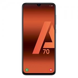Samsung Galaxy A70  128gb  Dual-SIM  pantalla de 6 7   Full HD   Dynamic AMOLED  4500 MaH   color negro  Versión española