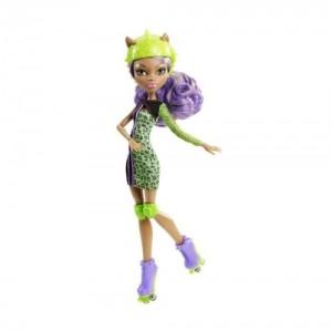 Monster High - Muñeca, Monstruopatinadora Clawdeen Wolf (Mattel Y8350)