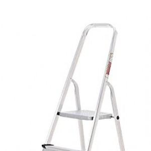 ORYX 23010002 - Escalera de  aluminio,  Doméstica,  4 peldaños