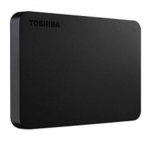Toshiba Canvio Basics - Disco duro externo, 2.5 pulgadas (6.4 cm), Negro, 2 TB