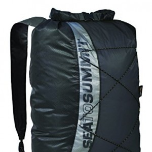 Sea to Summit Ultra-SIL Mochila, Resistente al Agua Negro Talla:20