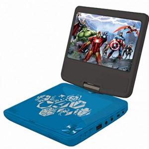 Avengers-DVDP6AV Avengers Vengadores Lector DVD portátil Lexibook DVDP6AV