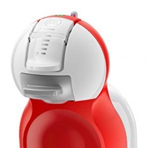 DeLonghi Dolce Gusto Mini Me EDG 305 WR - Cafetera automática, color blanco y rojo