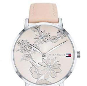 Tommy Hilfiger Reloj Analógico para Mujer de Cuarzo con Correa en Cuero 1781919