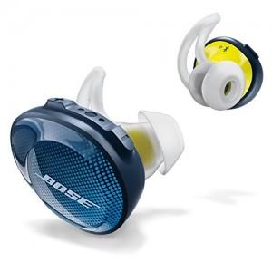 Bose SoundSport Free - Auriculares intraurales inalámbricos, Azul (Midnight Blue)
