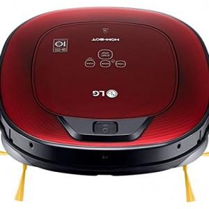 Robot Aspirador LG LG Hombot Turbo VR8602RR Smart Inverter 0,6 L 60 dB Rojo