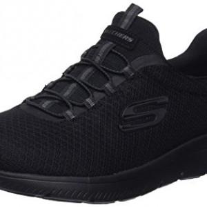 Skechers 12980, Zapatillas para Mujer, Negro (Black), 37 EU
