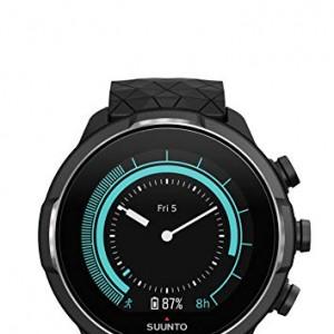 Suunto 9 Baro Reloj Multideporte GPS, Sin correa de frecuencia cardíaca, Unisex, Titanium, 24.5 cm