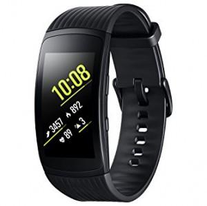 Samsung Gear Fit 2 Pro - Pulsera de Fitness de 1.5'' (4 GB, 1 GHz, 0.5 GB RAM, Tizen), resistente al agua, color negro- Version española