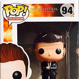 Funko - Figurine Supernatural - Dean FBI Outfit Exclu Pop 10cm - 0849803053116