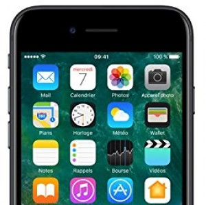 "Apple iPhone 7 - Smartphone con pantalla de 4.7"" (Wi-Fi, Bluetooth, 32 GB, 4G, cámara de 12 MP, iOS), Negro"