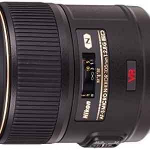 Nikon AF-S VR Micro 105mm F2.8 G IF-ED - Objetivo con montura para Nikon (distancia focal fija 105mm, apertura f/2.8, estabilizador de imagen)