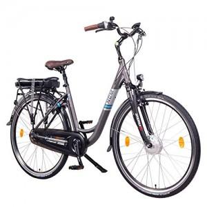 NCM Munich N8C 28  Bicicleta eléctrica City E-Bike  Batería 36V 13Ah 468Wh  Motor Frontal y con Freno a contrapedal