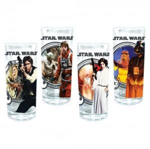 Star Wars 4 pc. 10 oz. Glass Set