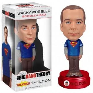 Funko - Bobble Head Big Bang Theory - Sheldon Superman Talking - 0849803036102