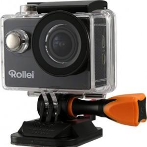 Rollei 425 - Cámara de acción con pantalla de 2